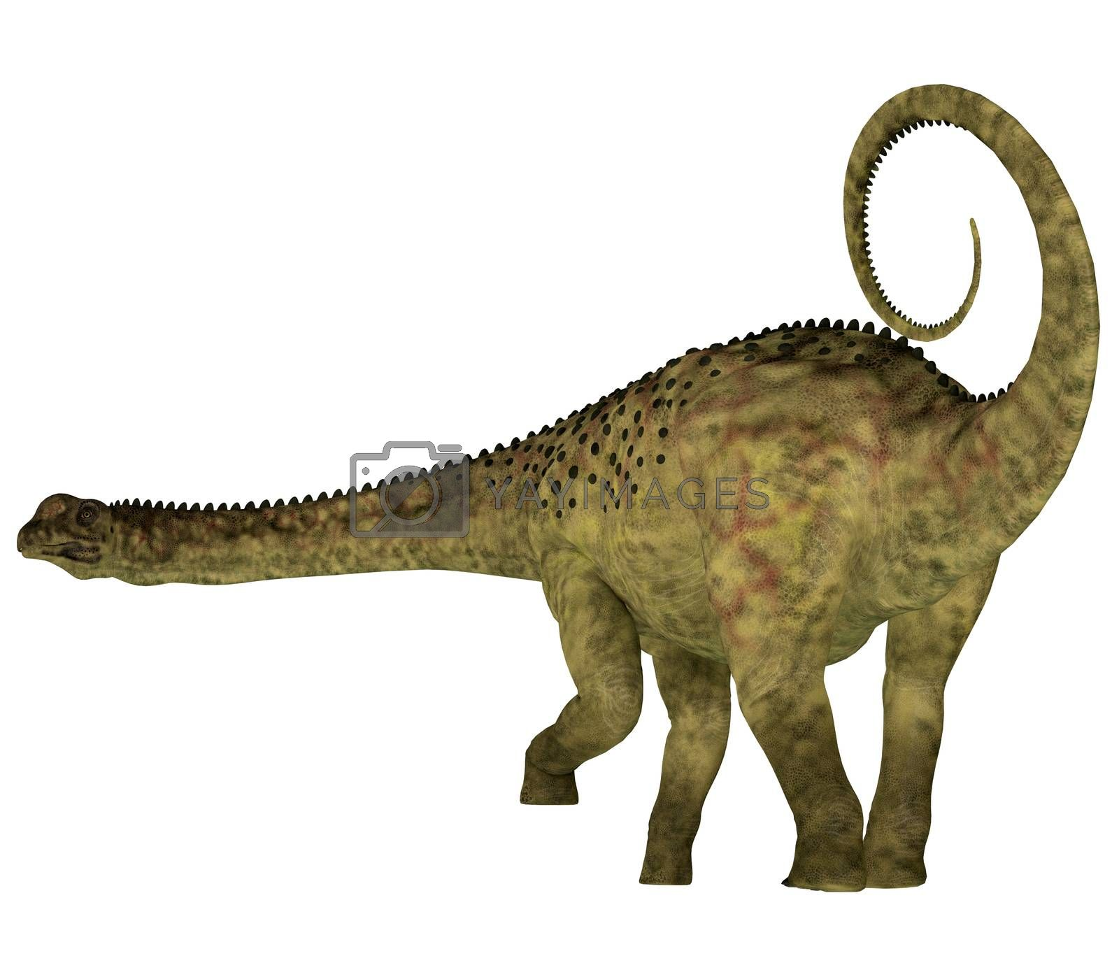 Uberabatitan was a herbivorous sauropod dinosaur that lived in Brazil during the Cretaceous Period.