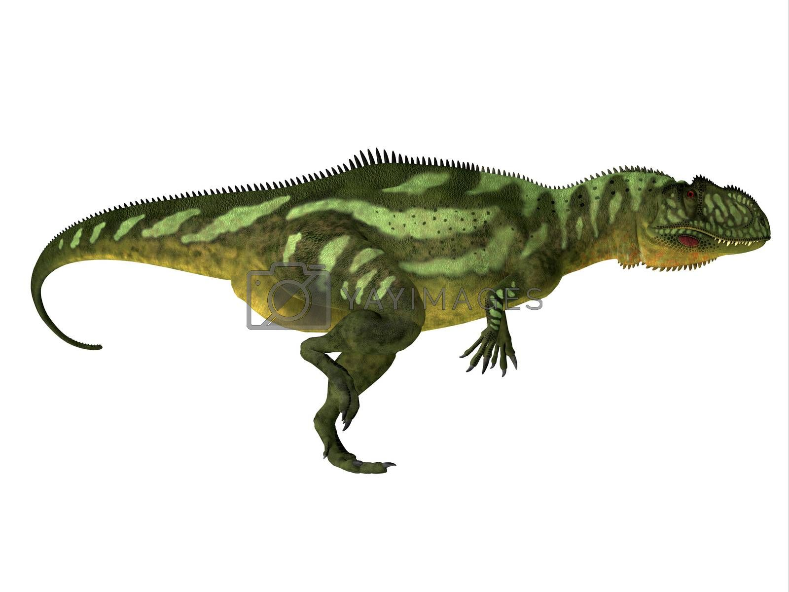 Yangchuanosaurus was a carnivorous theropod dinosaur that lived in China during the Jurassic Period.