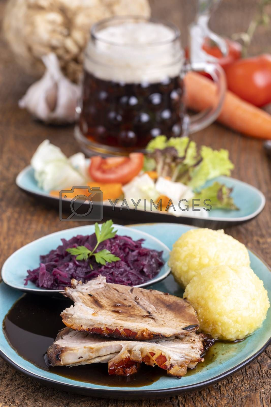 bavarian roasted pork by bernjuer