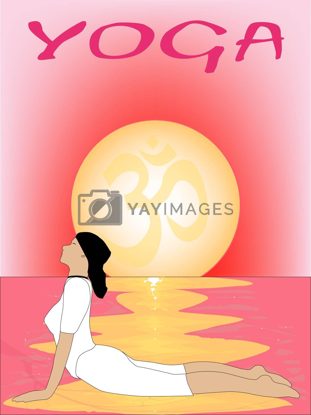 Yoga Sunrise by Bigalbaloo