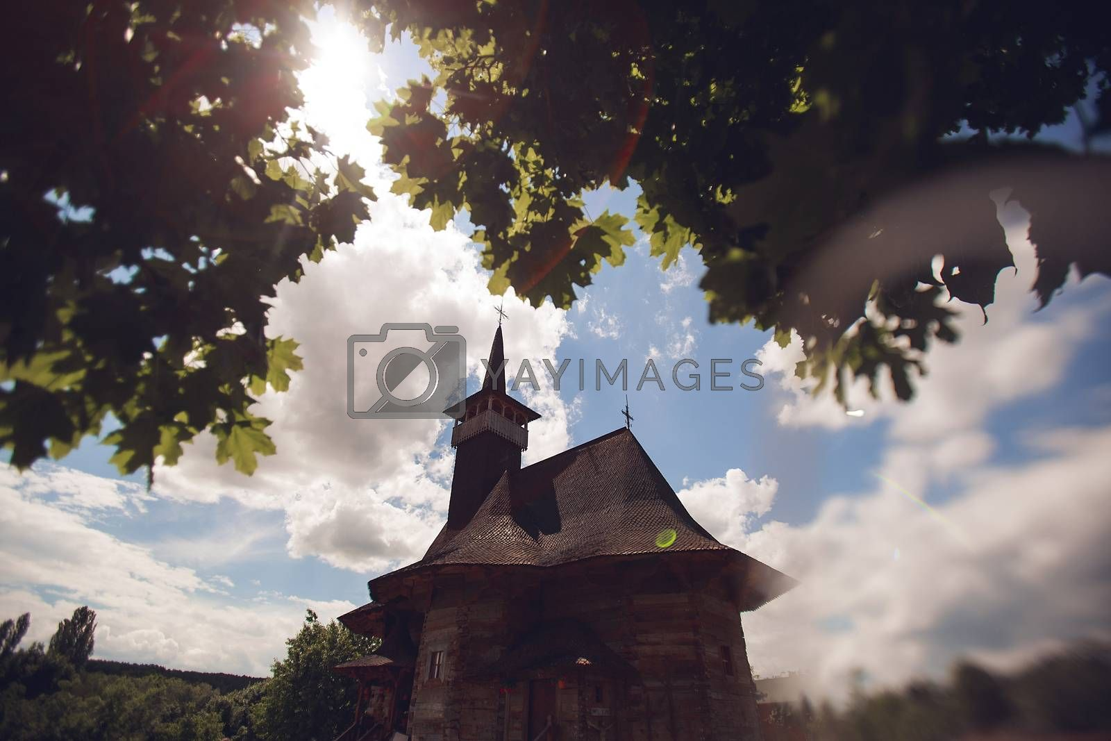 We travel to the wooden church