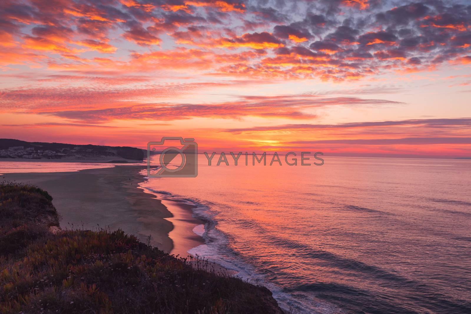 Royalty free image of Orange Sunset  by Iko