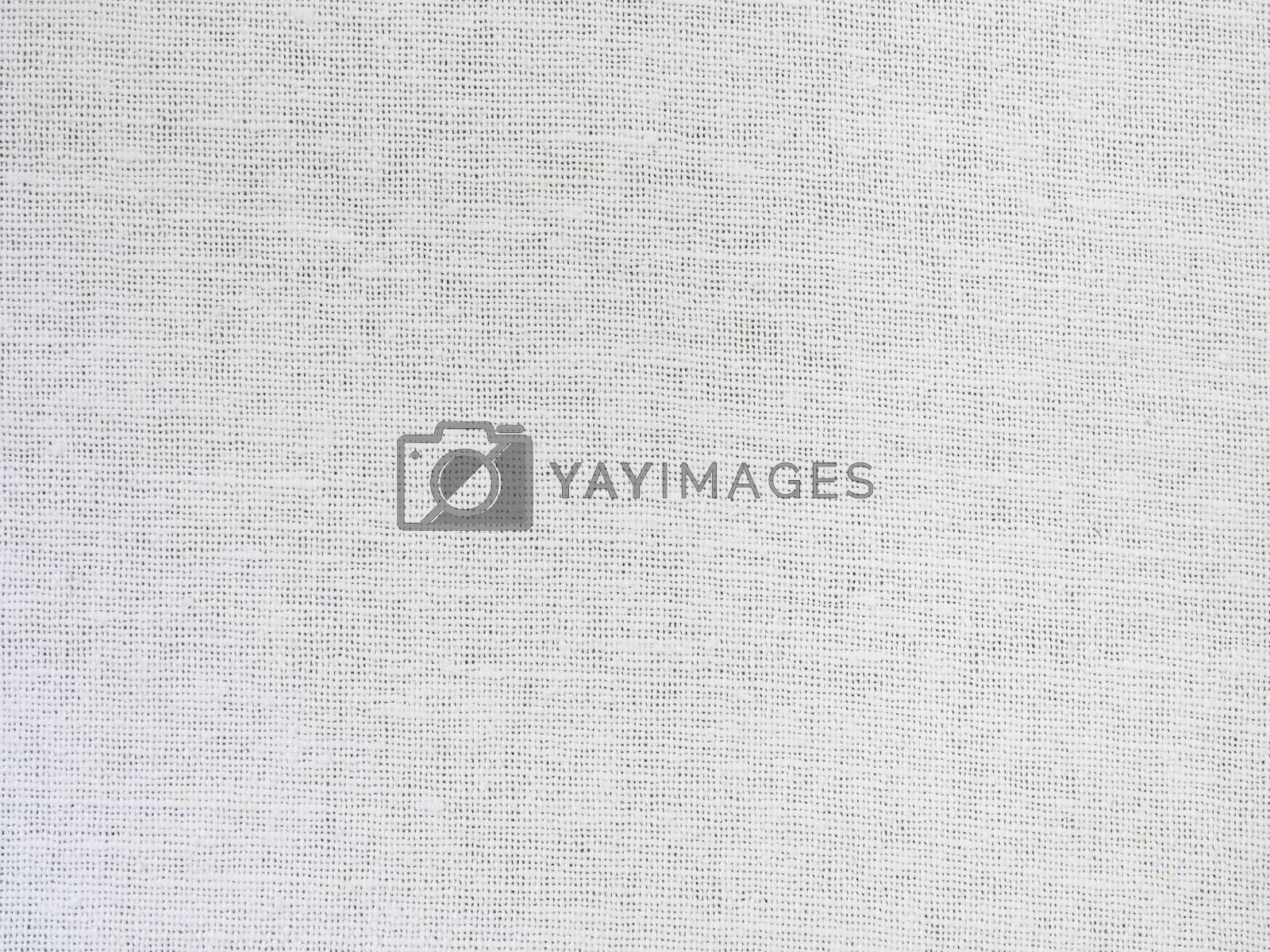 White cotton cloth to use as a background.