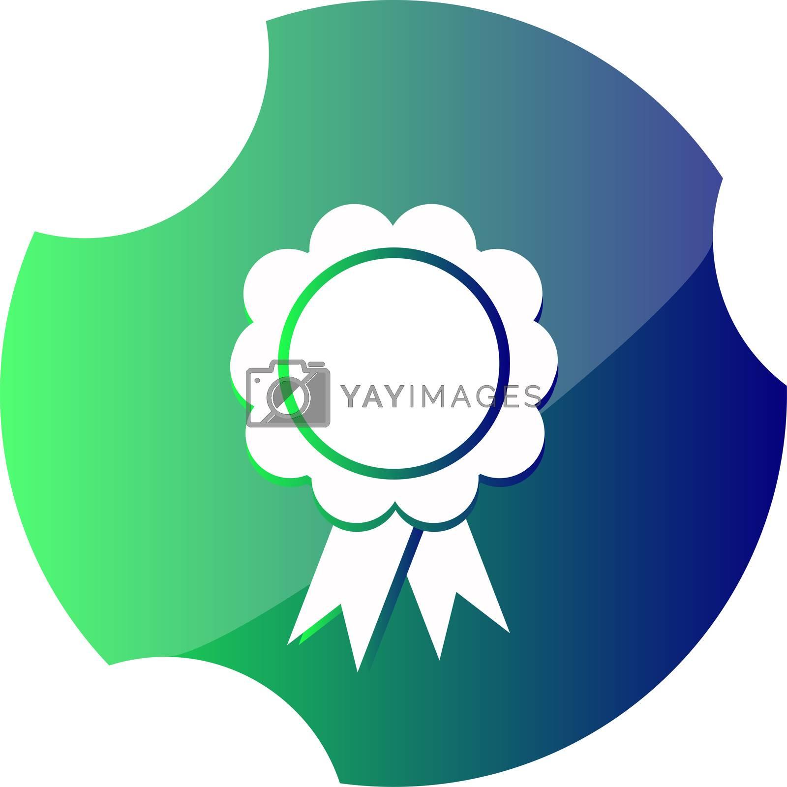 Pictograph of award. Web icon pictograph of award
