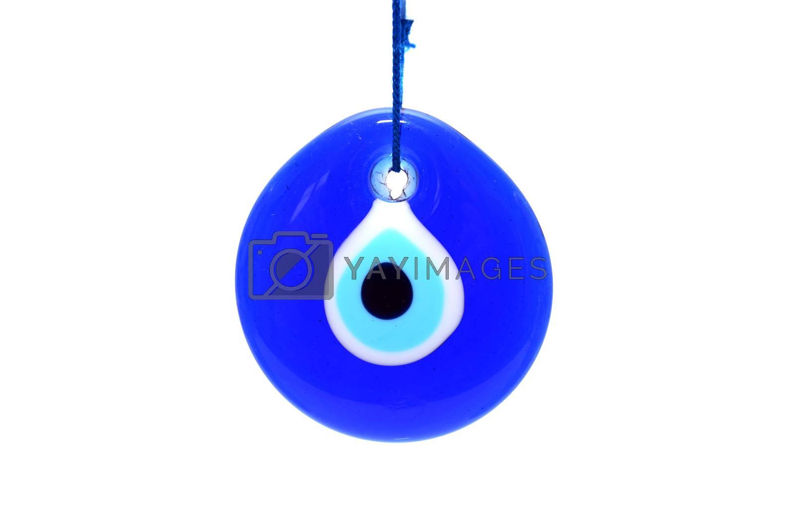 Royalty free image of pendant evil eye symbol by tony4urban