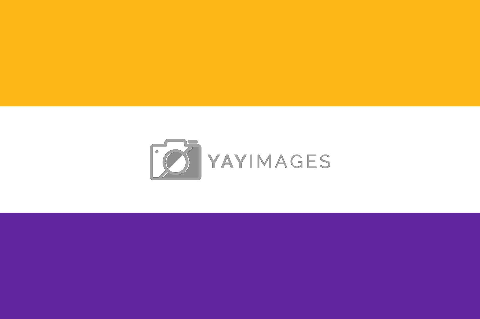 Royalty free image of woman right flag by tony4urban