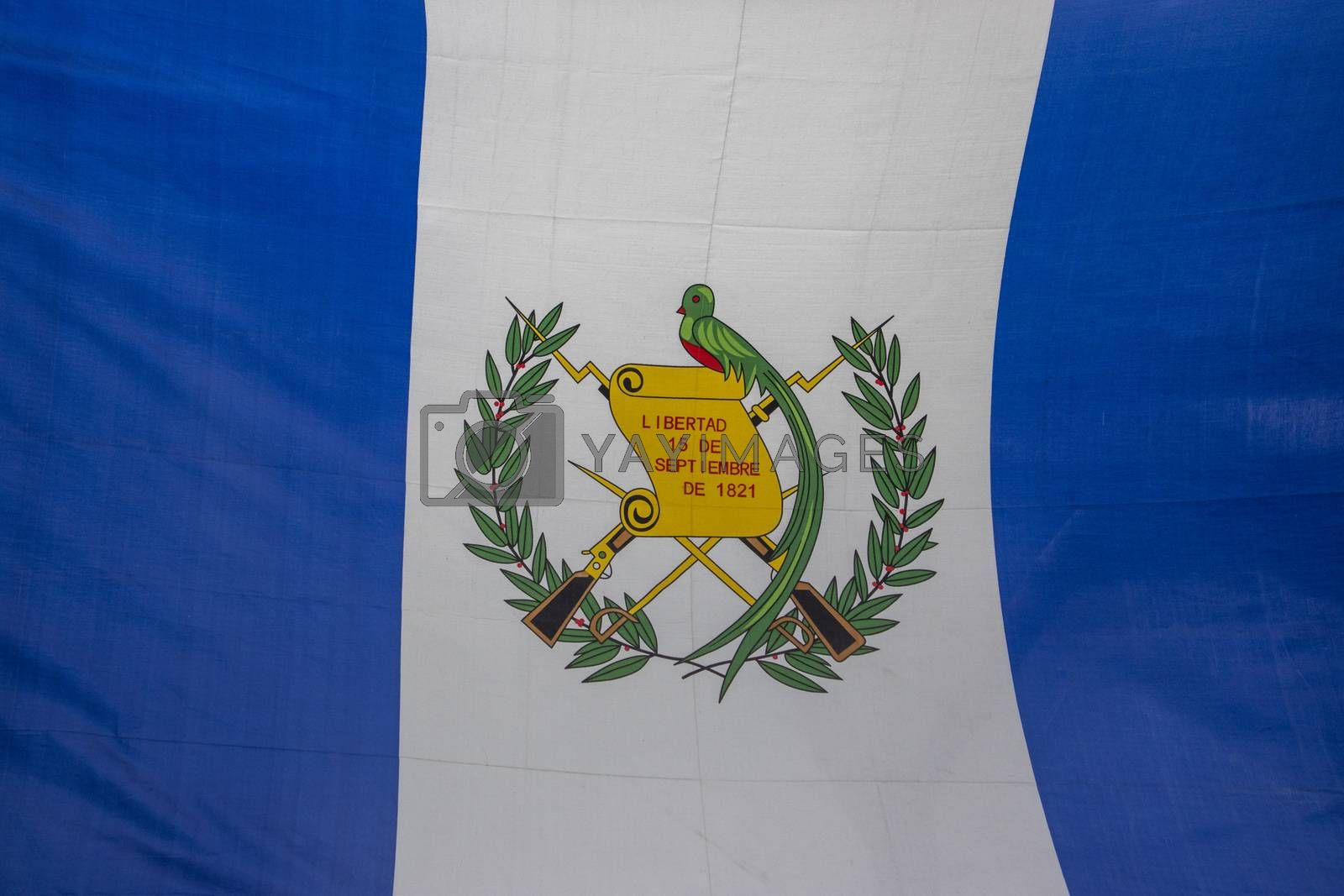 guatemalan flag by bernjuer