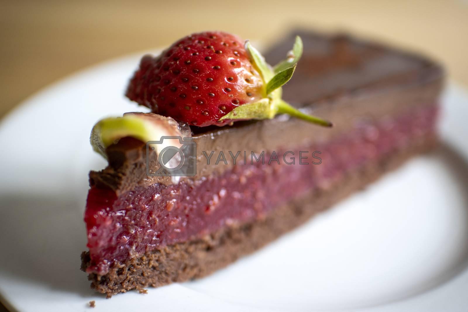 chocolate cake by bernjuer