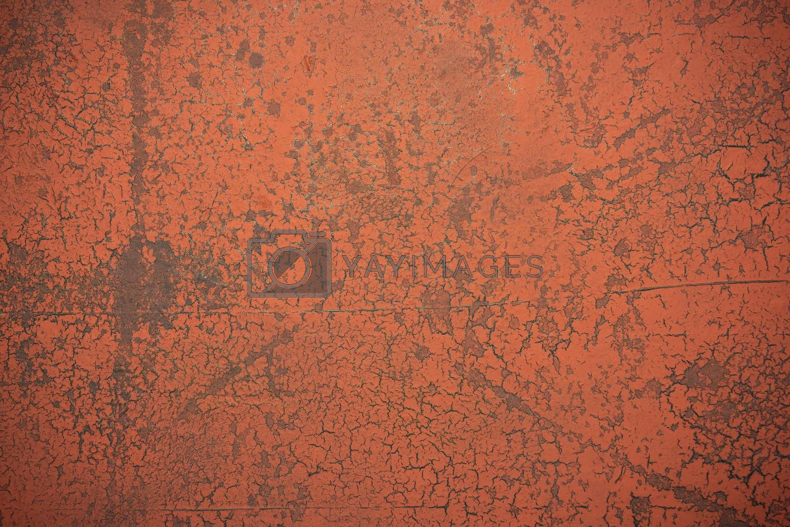 Old Weathered Background with Cracked Paint. Grunge Background.