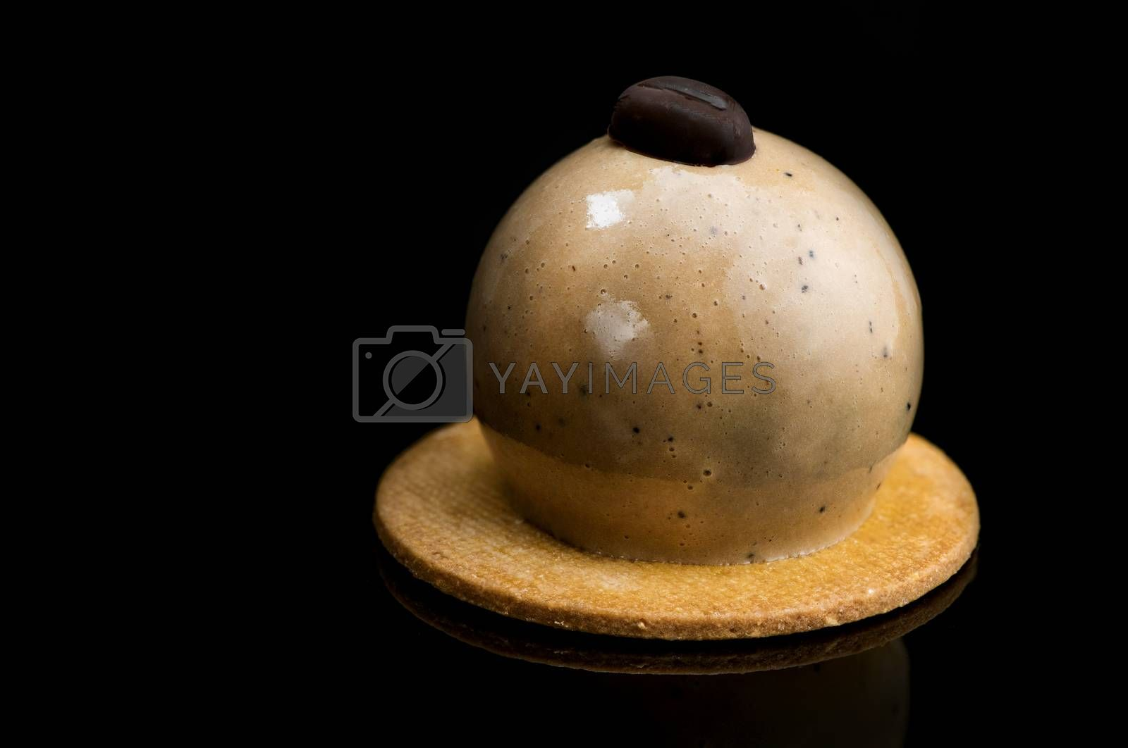 Artisan Monoportion Cake. Handmade Chocolate Dessert. Creative P by merc67