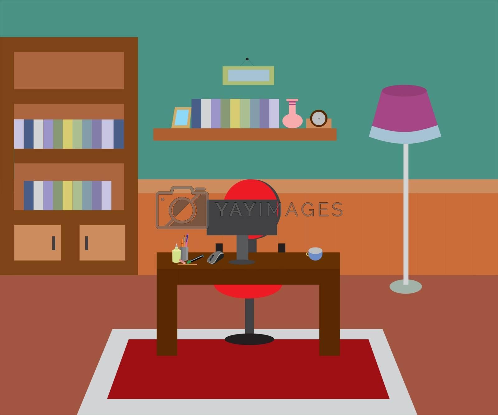 modern interior design, design of cabinet