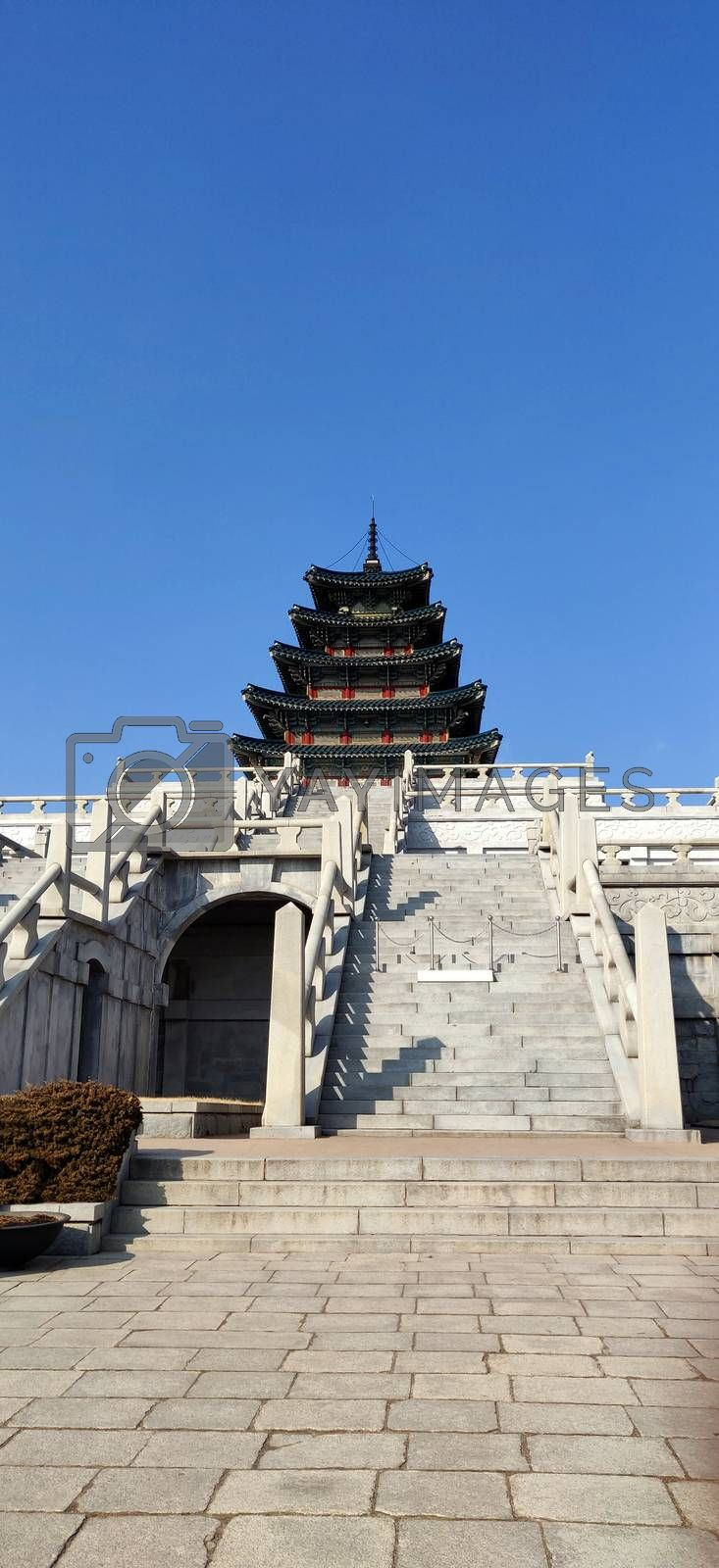 Place of worship in National Folk Museum of Korea in Seoul, South Korea