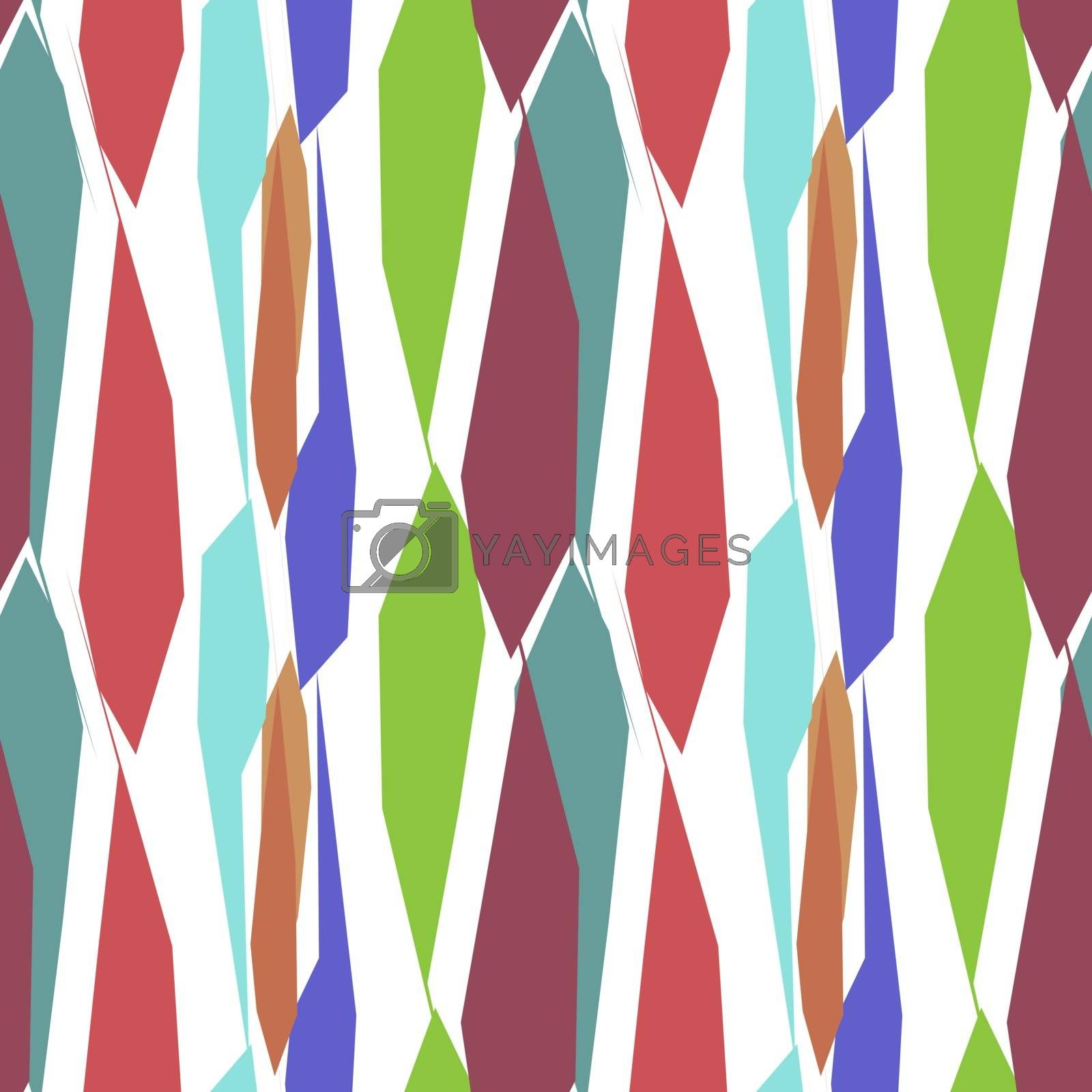 simple abstract minimal bright pattern with different random colorful shapes