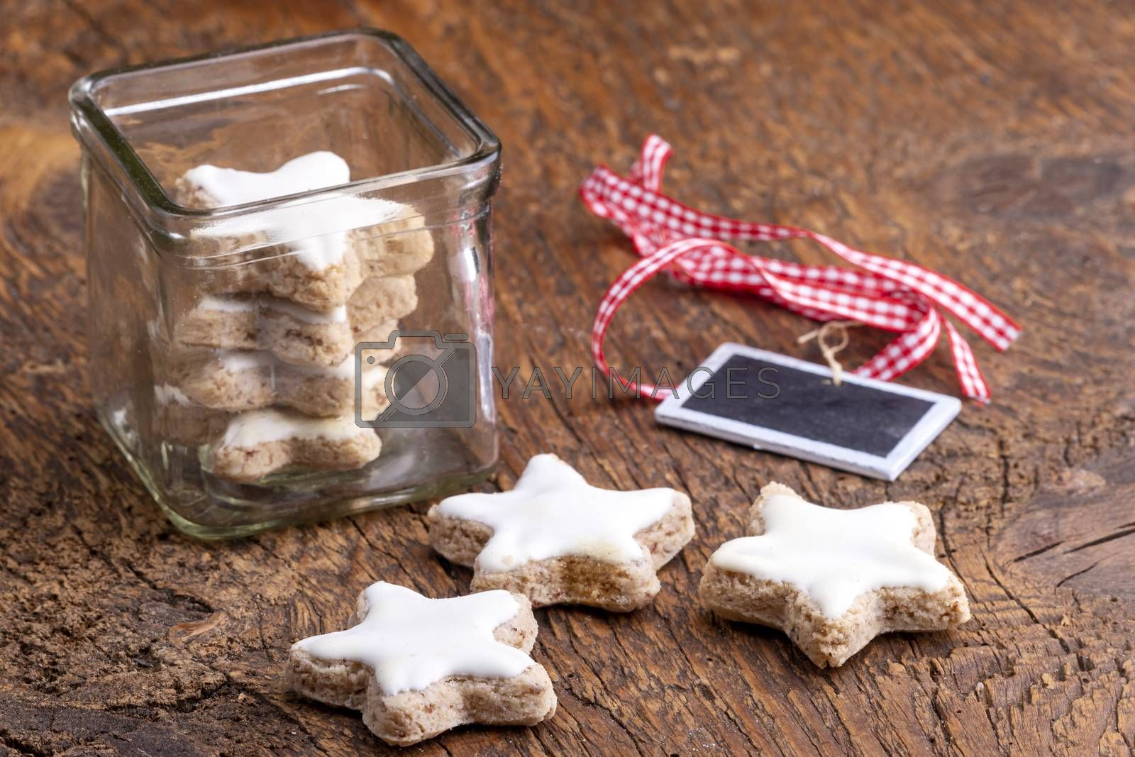 home made cinnamon stars for christmas by bernjuer