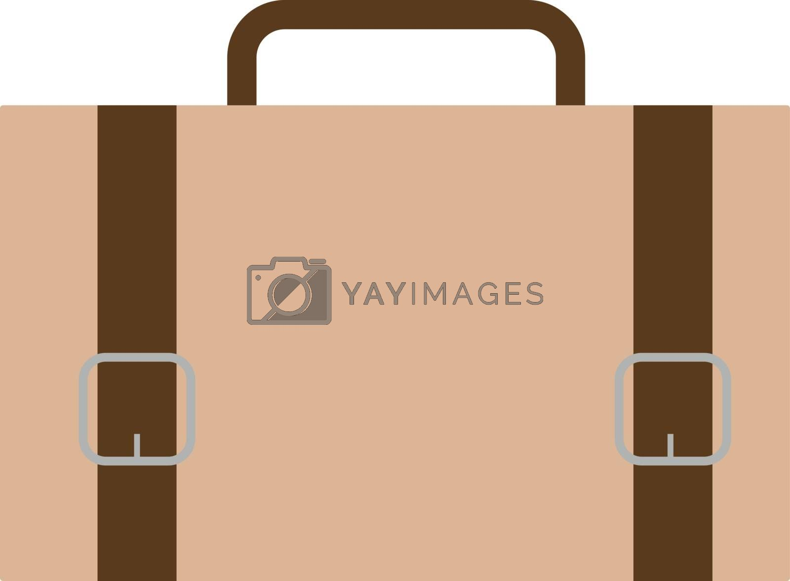 Case, illustration, vector on white background.
