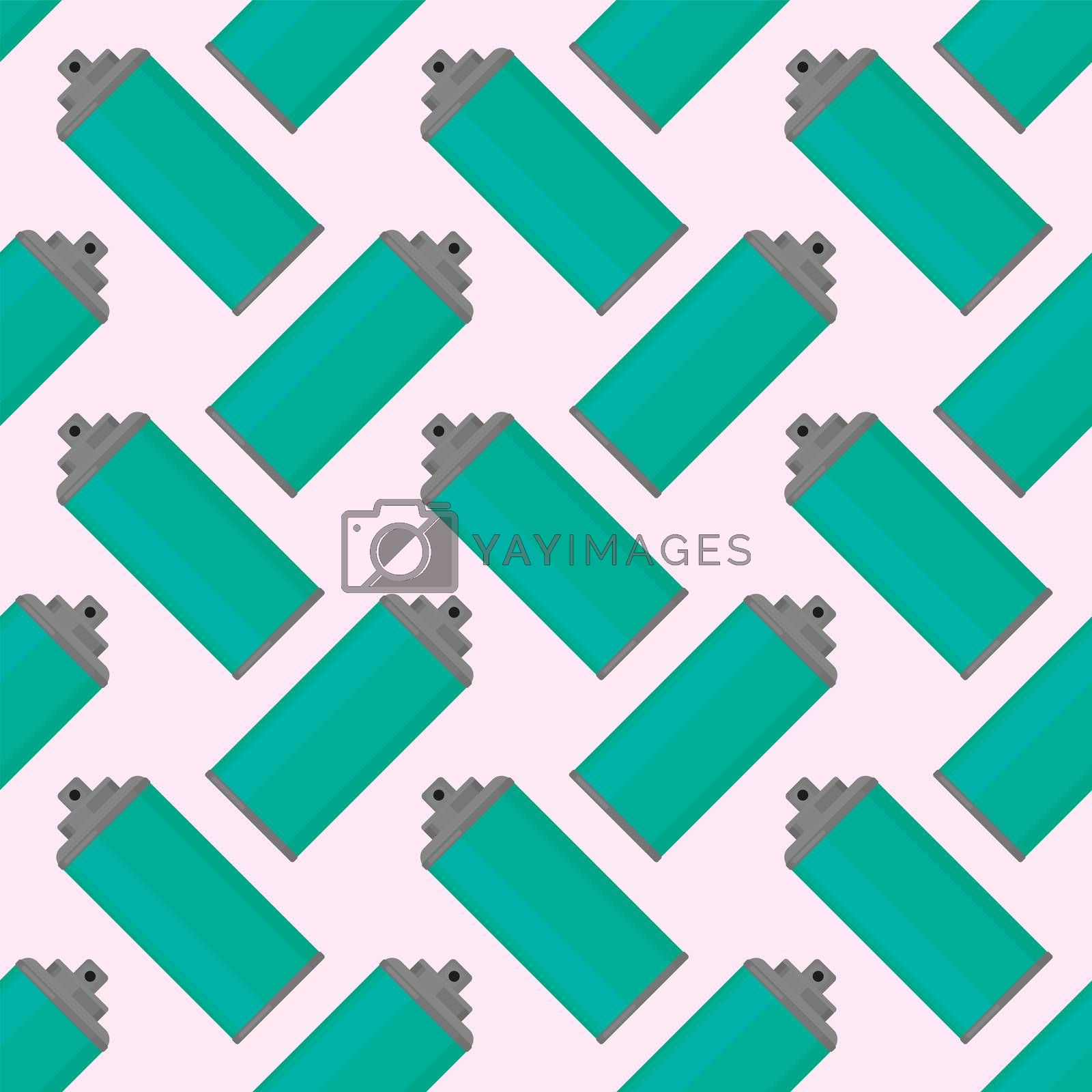 Sprays in can pattern , illustration, vector on white background