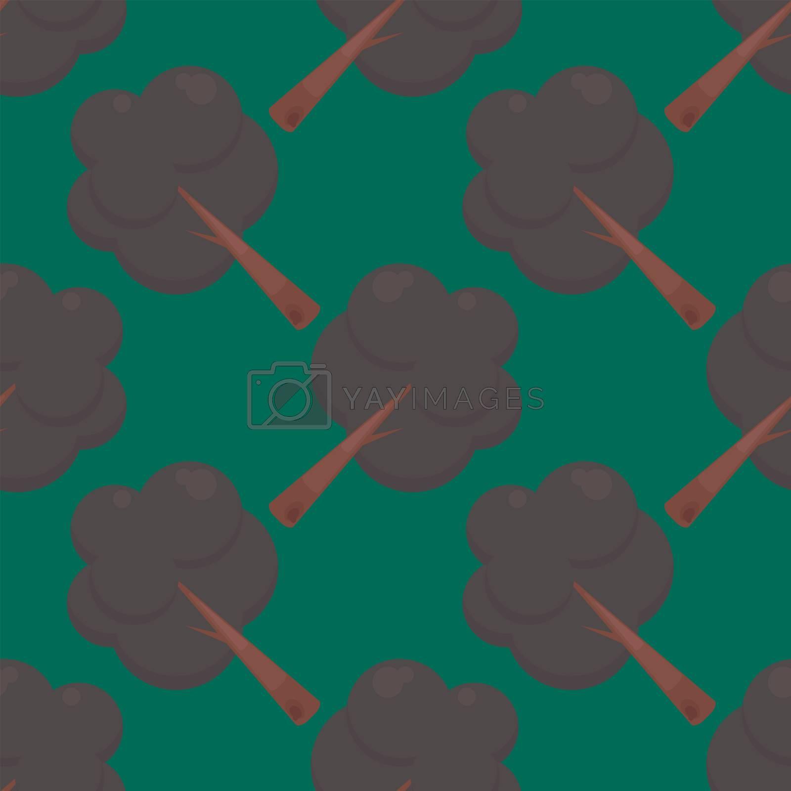 Tree pattern , illustration, vector on white background