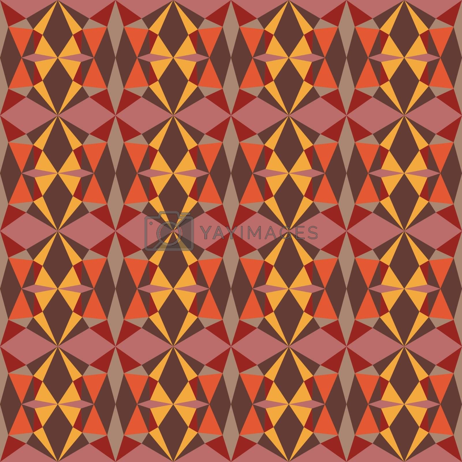 Background pattern with decorative geometric and abstract elements
