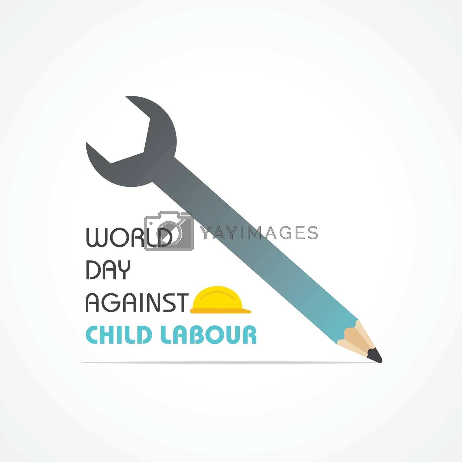 World Day Against Child Labour which is held on 12 June by graphicsdunia4you