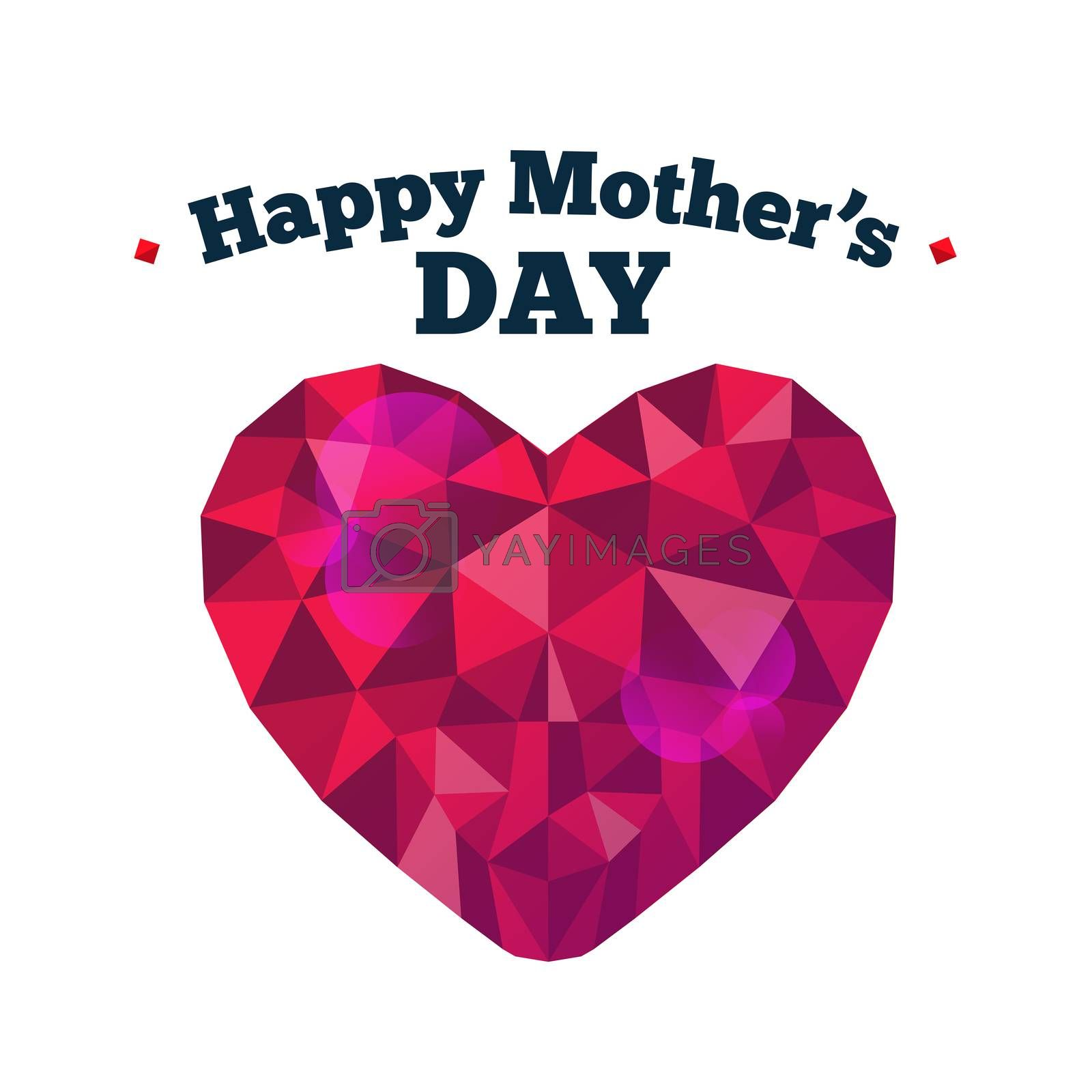 Happy mothers day vector by Wavebreakmedia