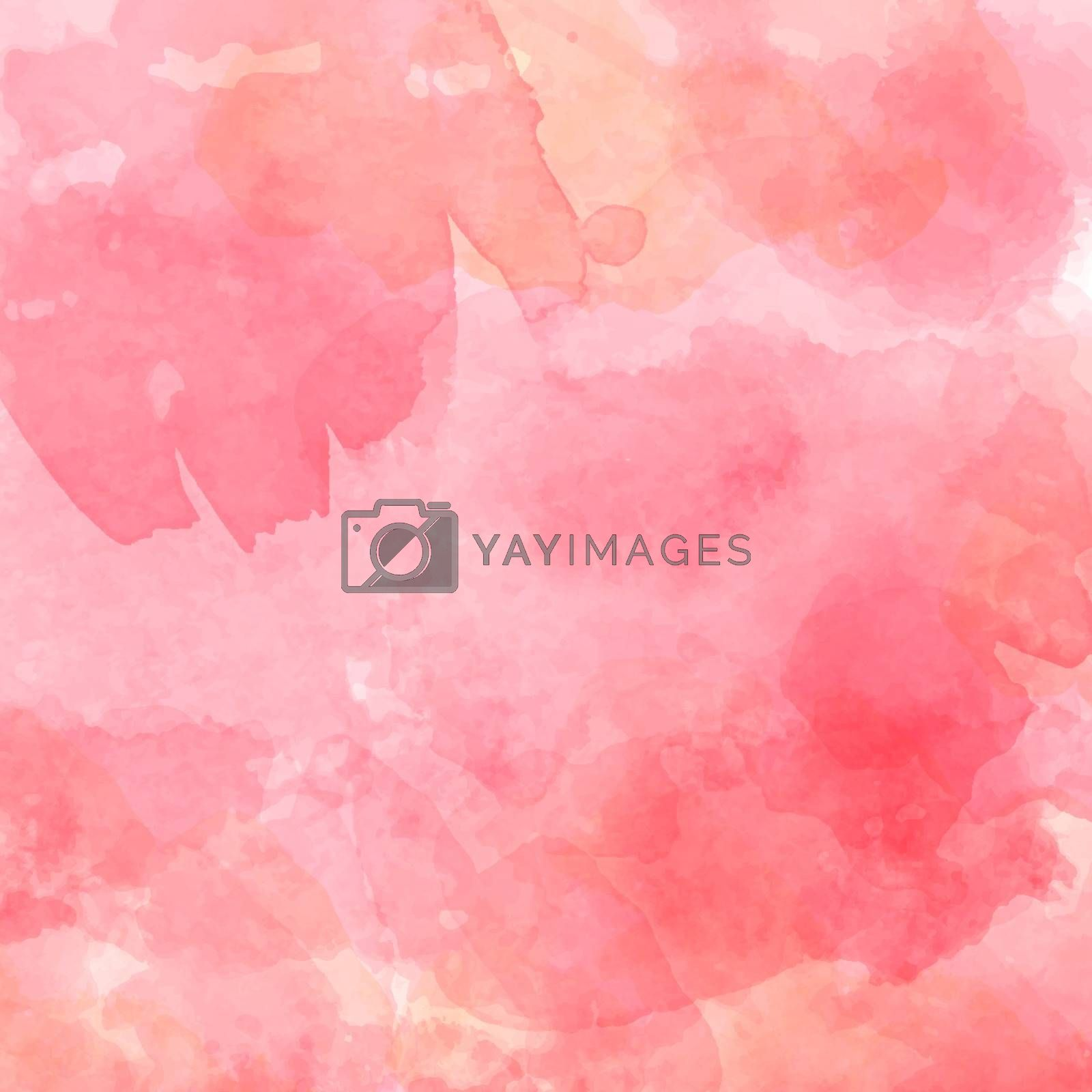 watercolor pastel background by balasoiu