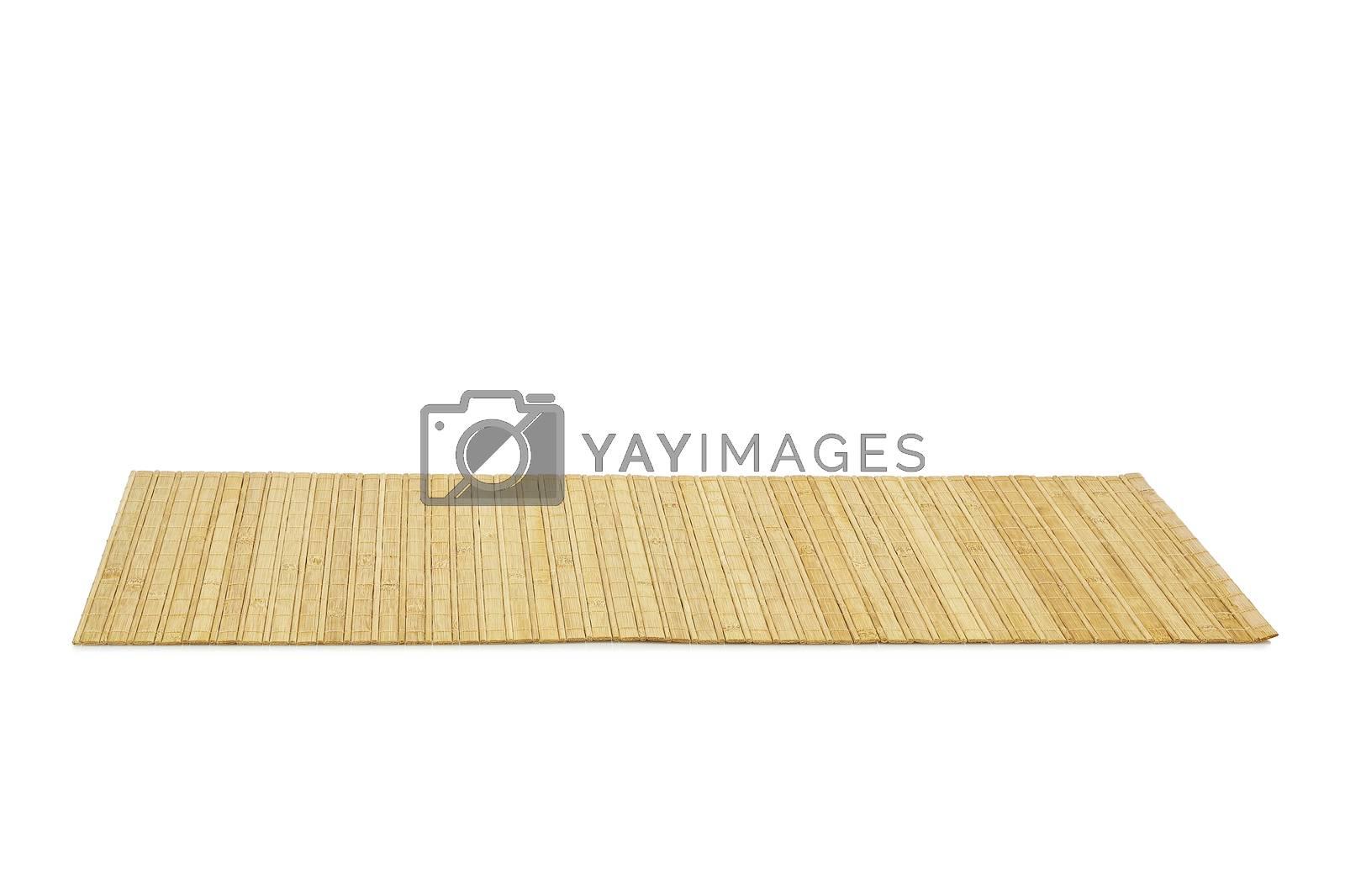 bamboo mat by costasz