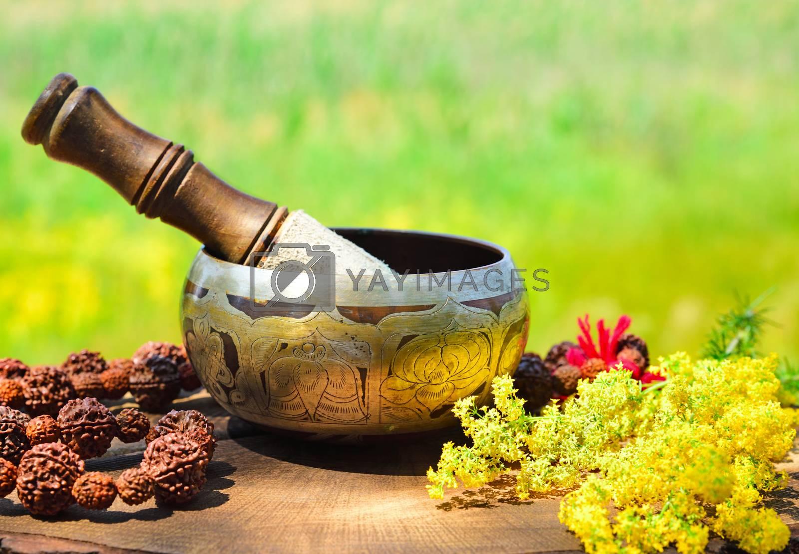 Copper singing bowl by ndanko