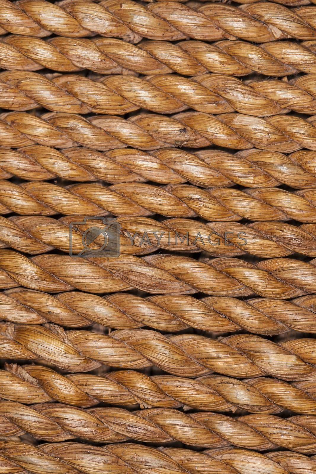 wooden rope