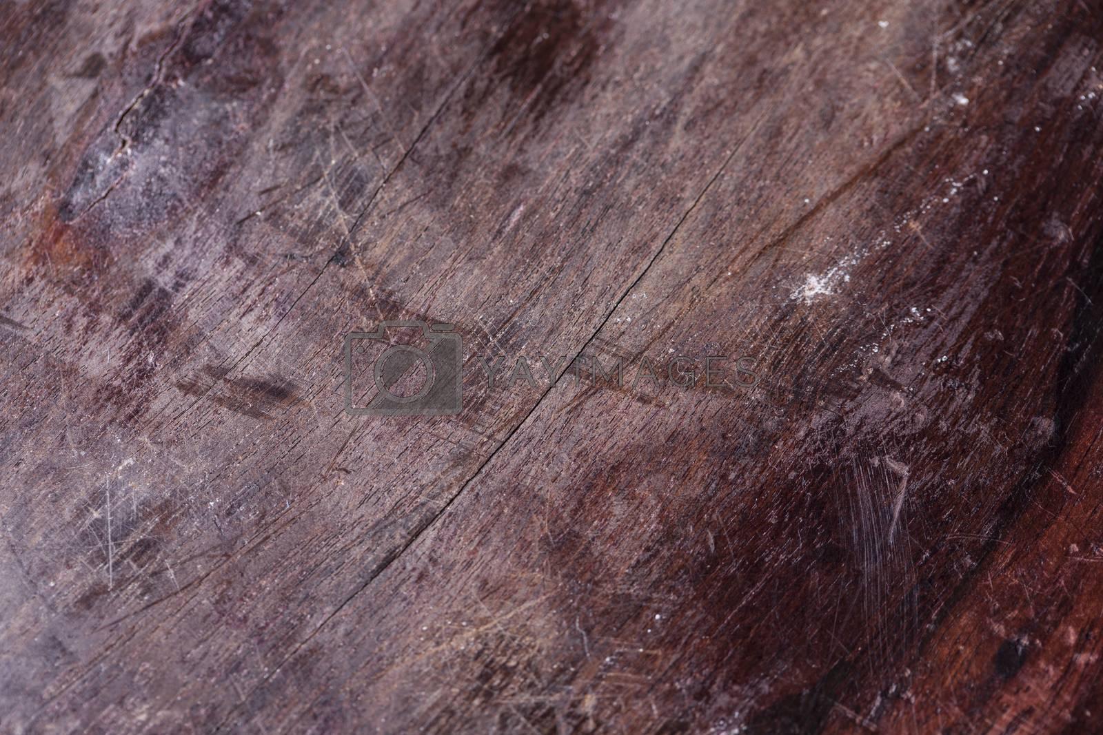 dark old brown board, background