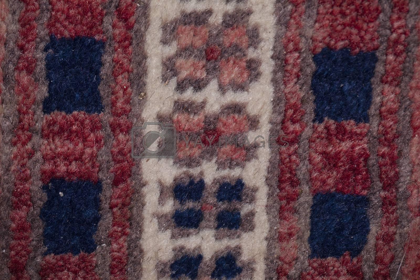 pattern on fabric, closeup background