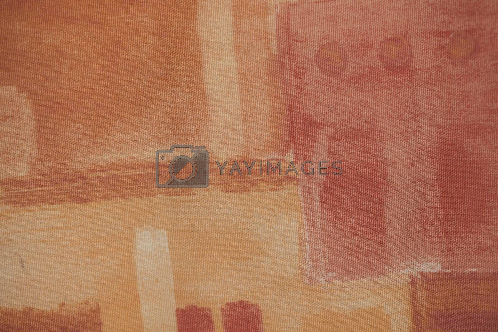 shades of red on fabric, closeup, background