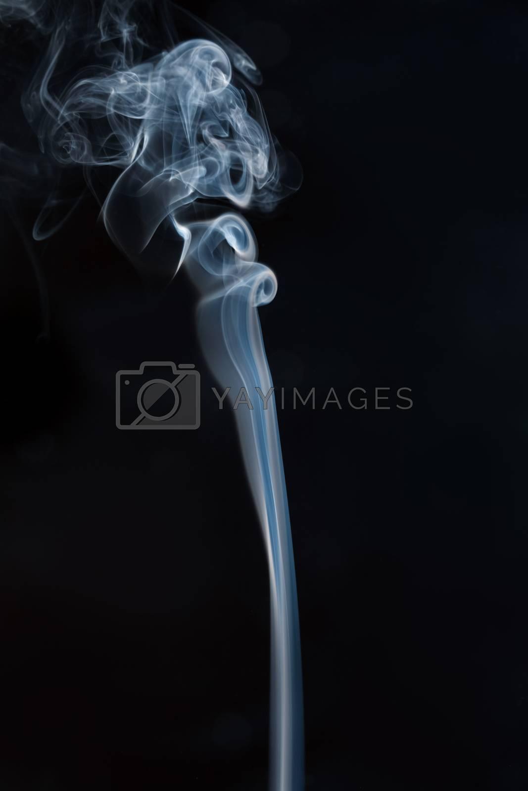 An image of a beautiful smoke background