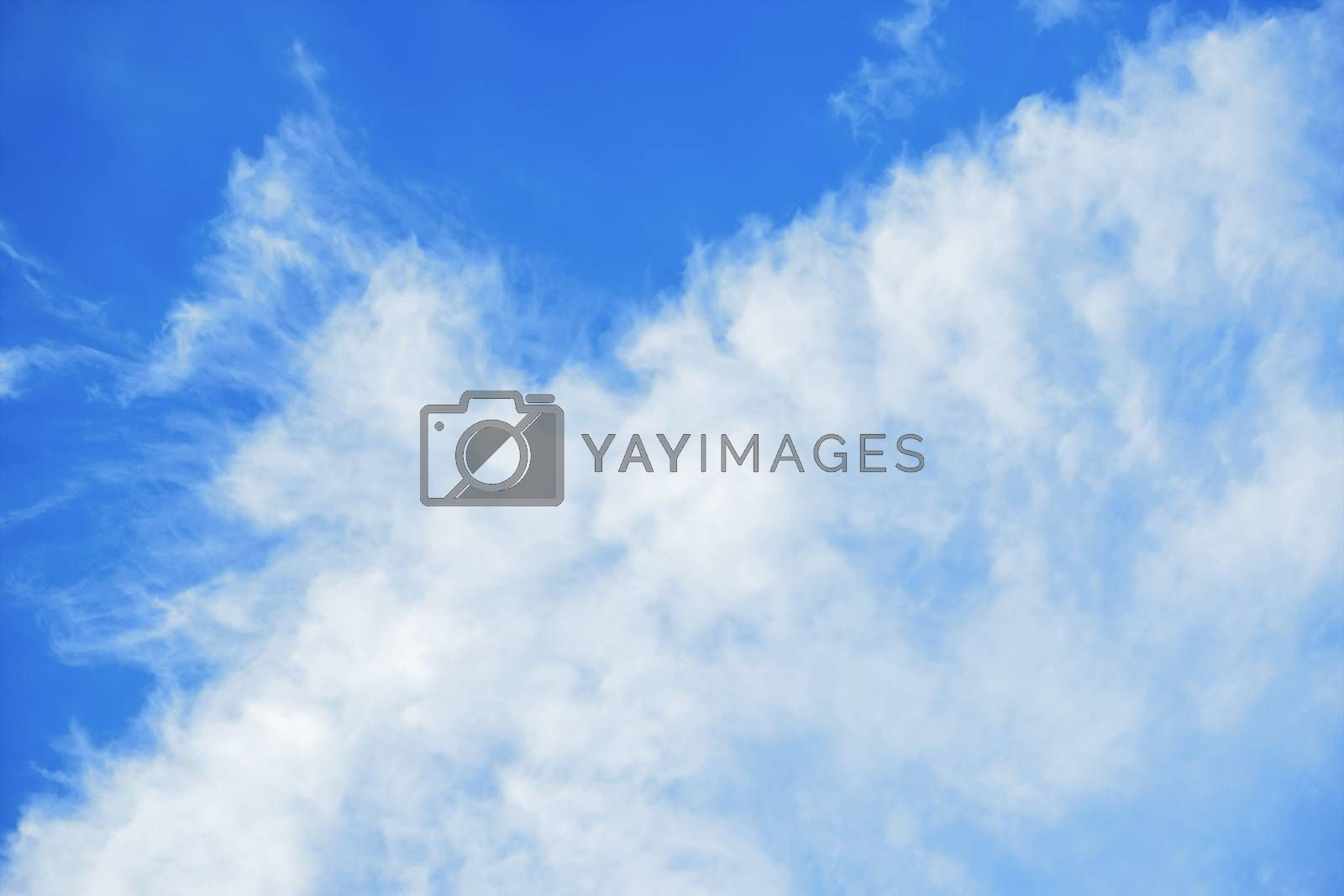 An image of a nice blue sky with clouds