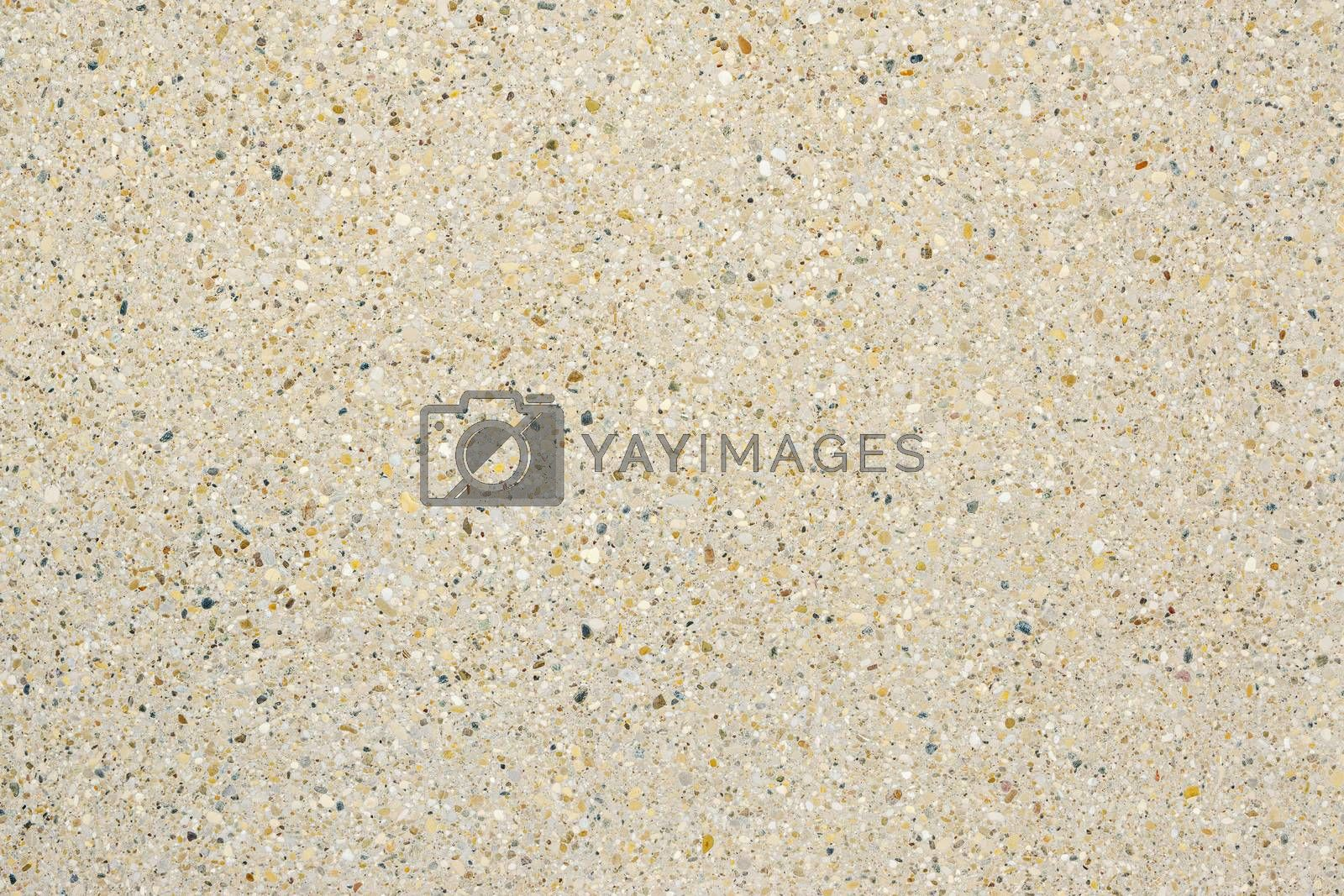 An image of an aggregate concrete wall texture background