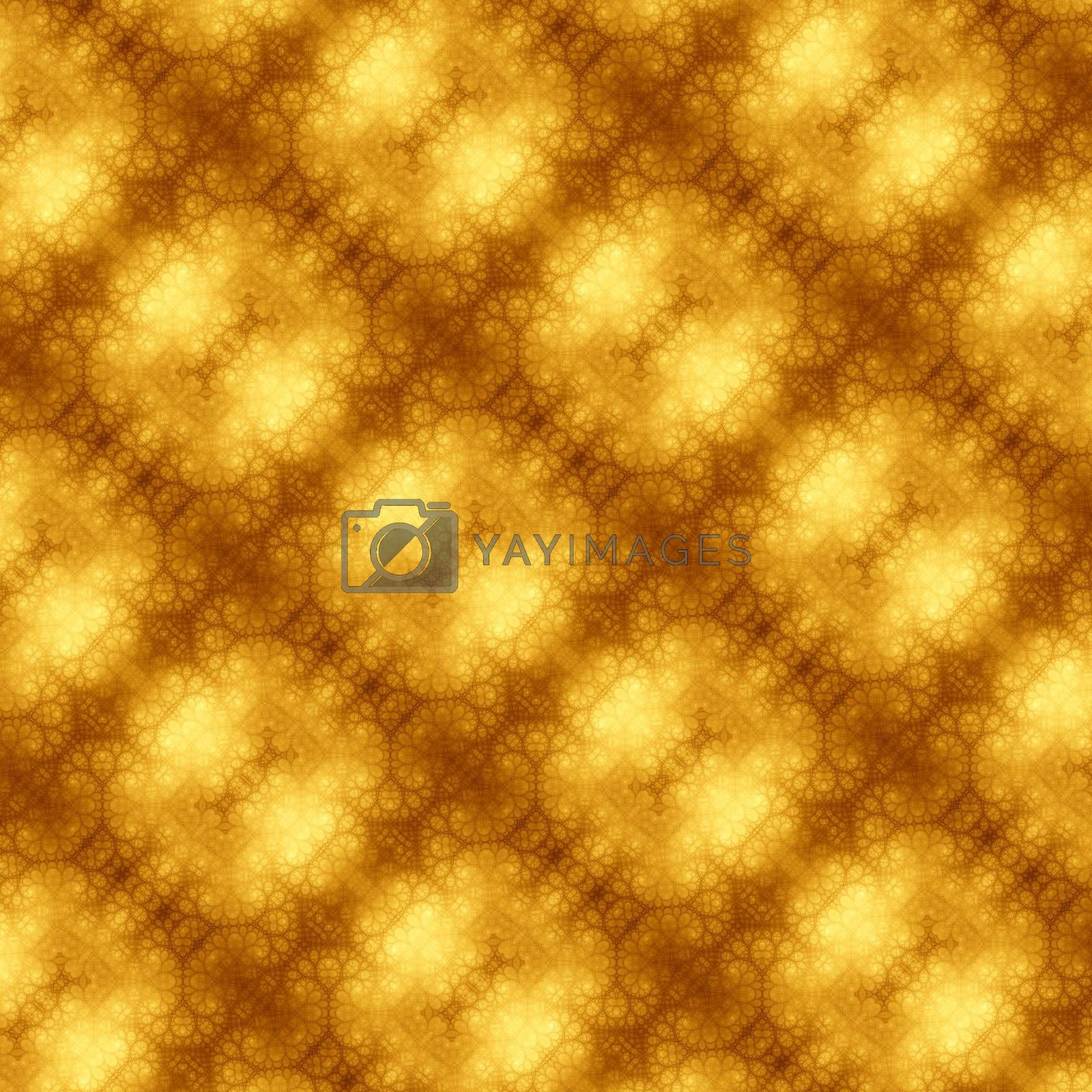 An illustration of an abstract fractal graphic art background