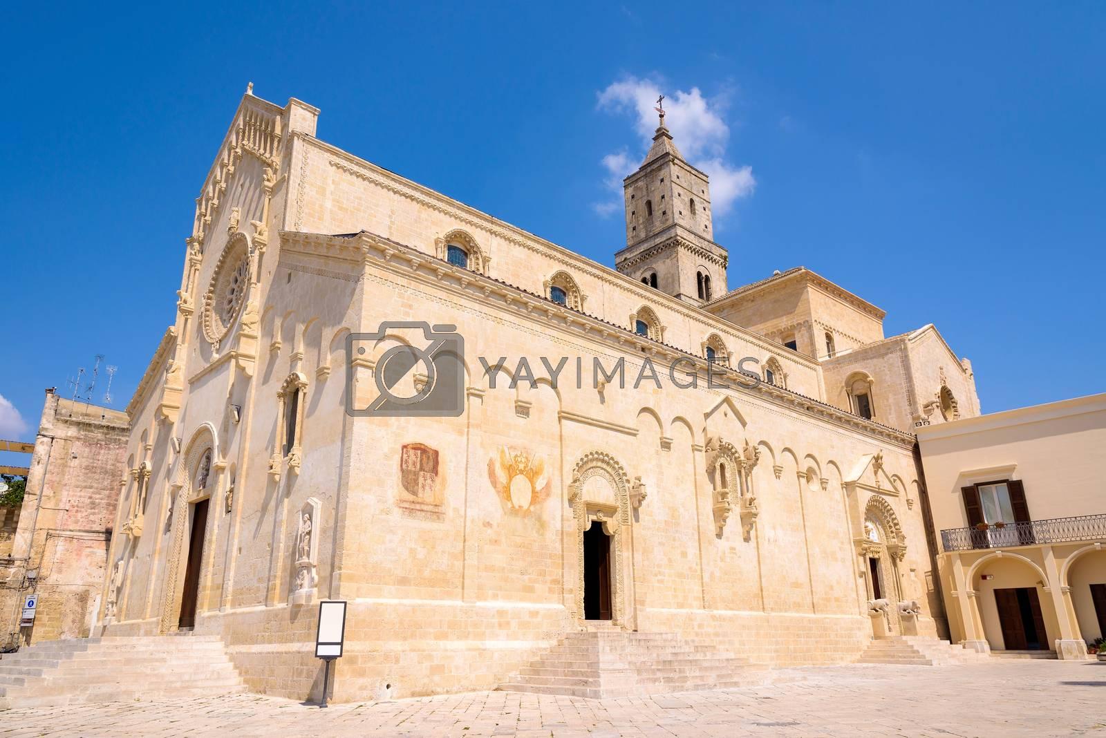 Building of Matera Cathedral, Basilicata, southern Italy