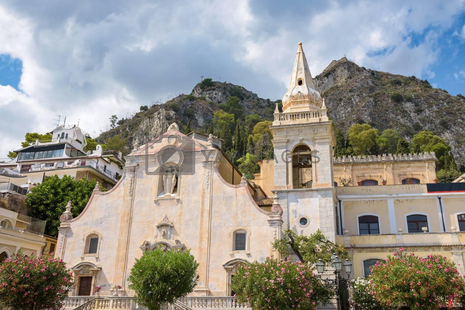 Church of San Giuseppe in Taormina, Sicily, Italy