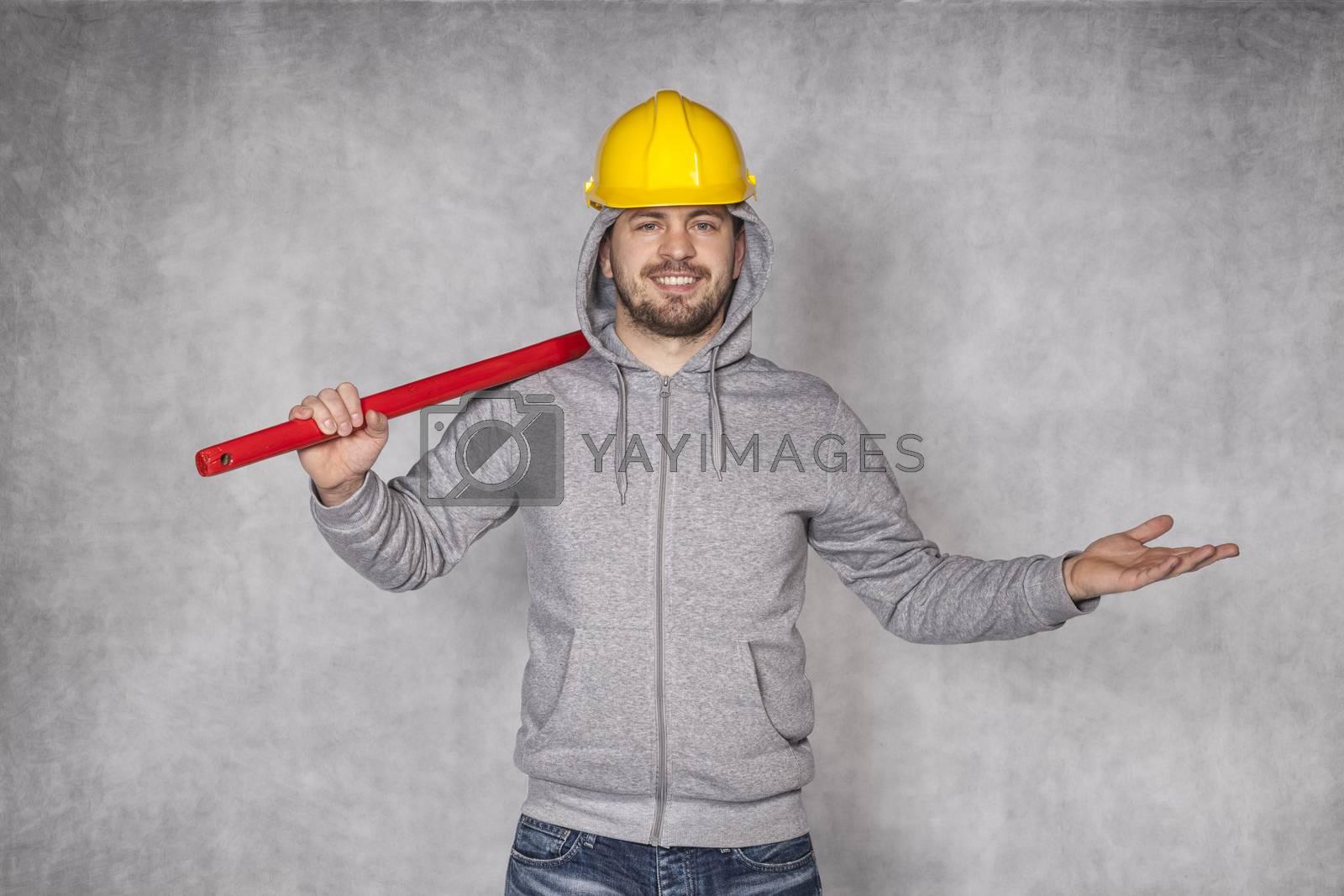 cheerful employee