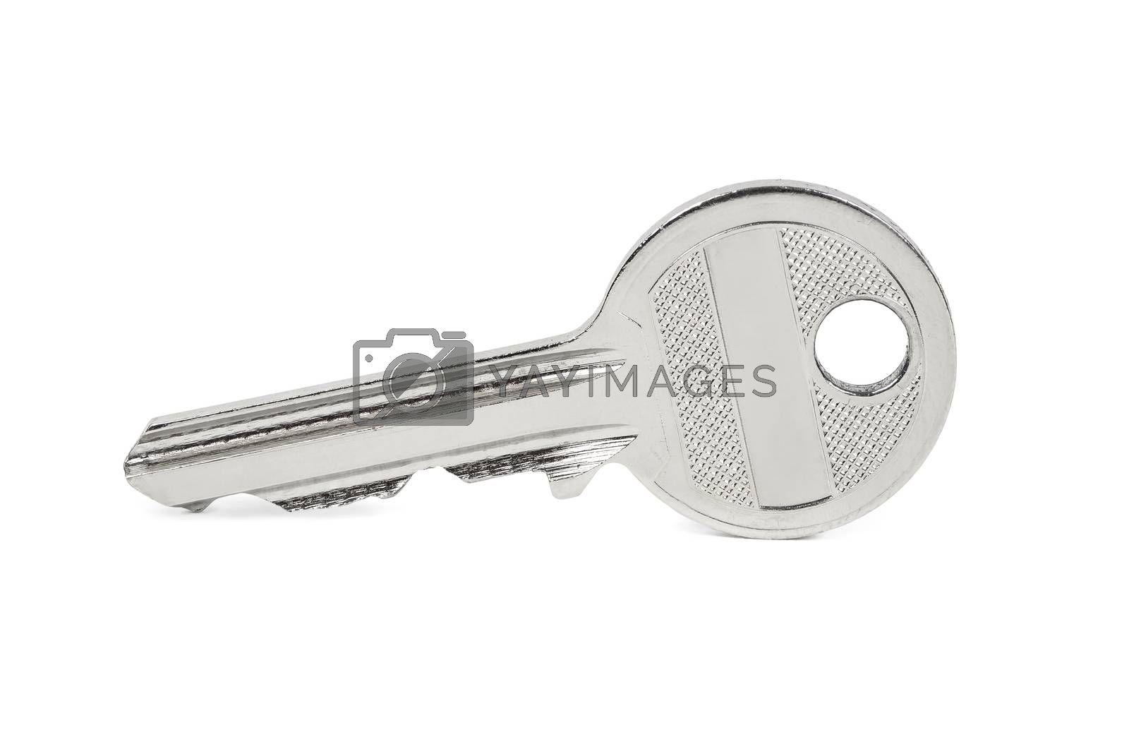 Key isolated on white background with clipping path