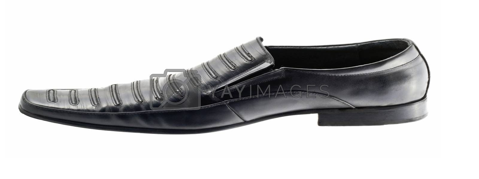 mens loafers on white background beauty Fashion