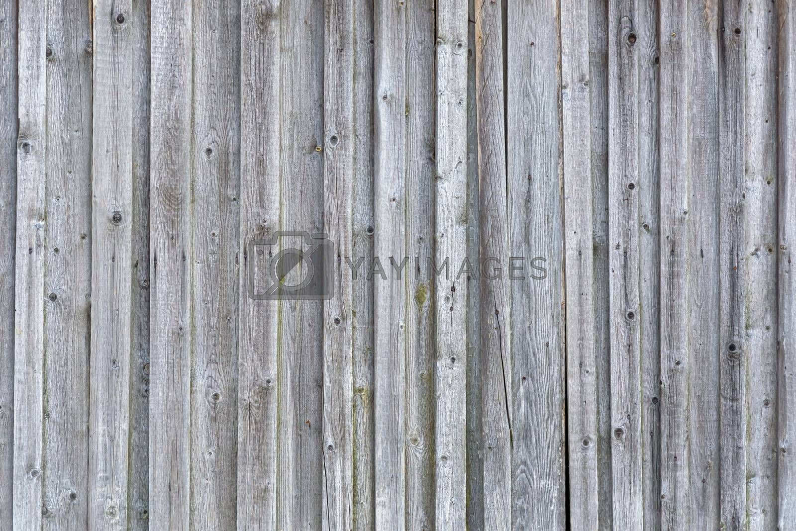 Background or texture made of old wooden planks