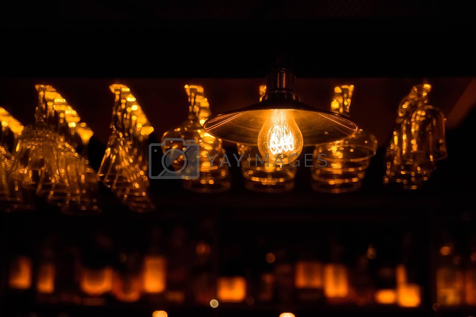 Illumination at the bar by Nickstock