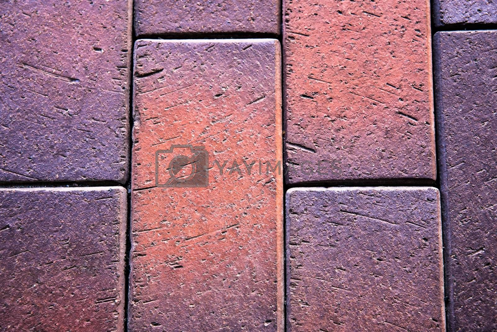concrete tiled pavement background by Nickstock