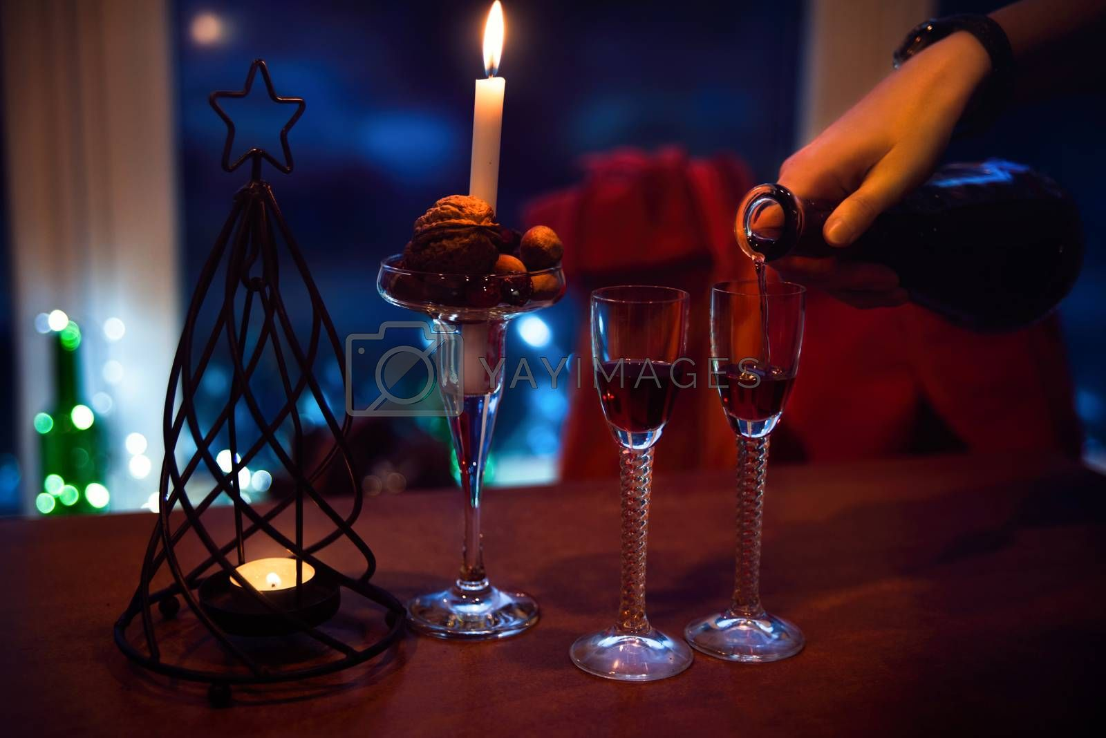 New year, new year atmosphere, romance celebration