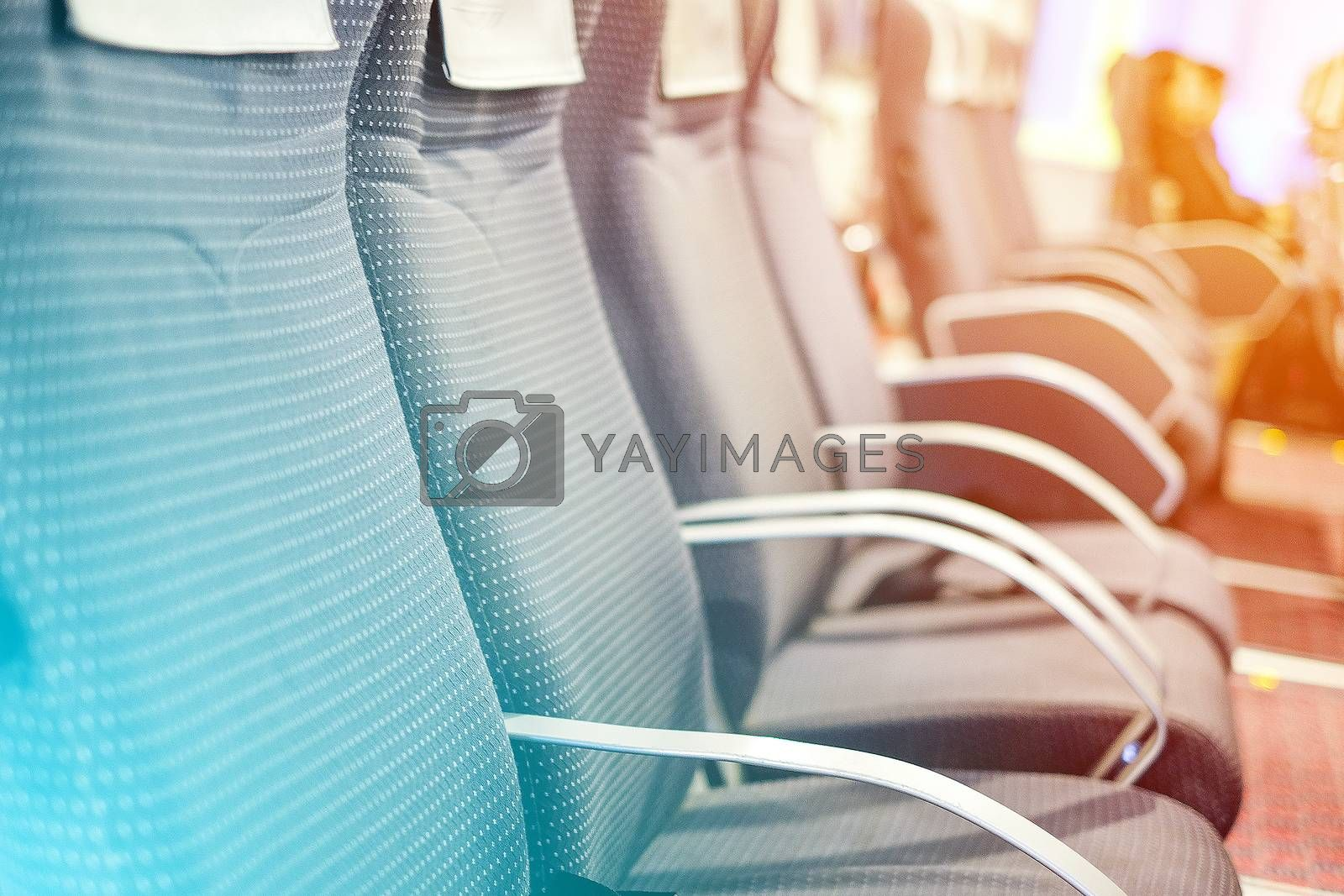 Passengers Seat in ferry boat