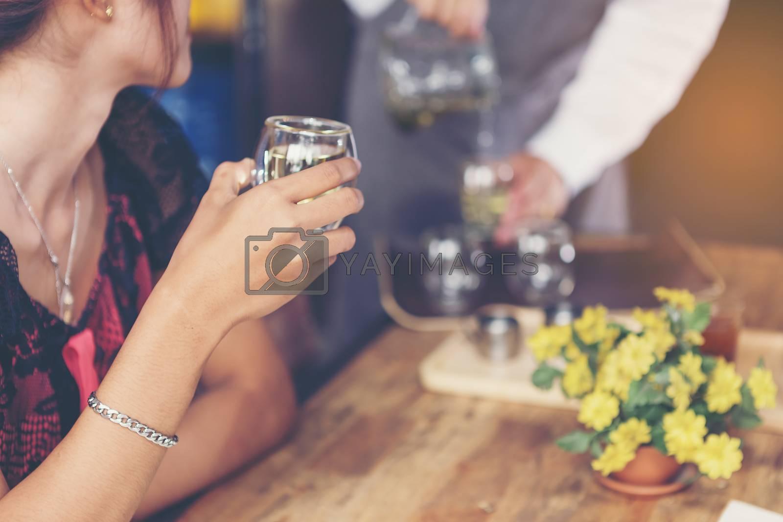 Business  Party Celebration Success Concept
