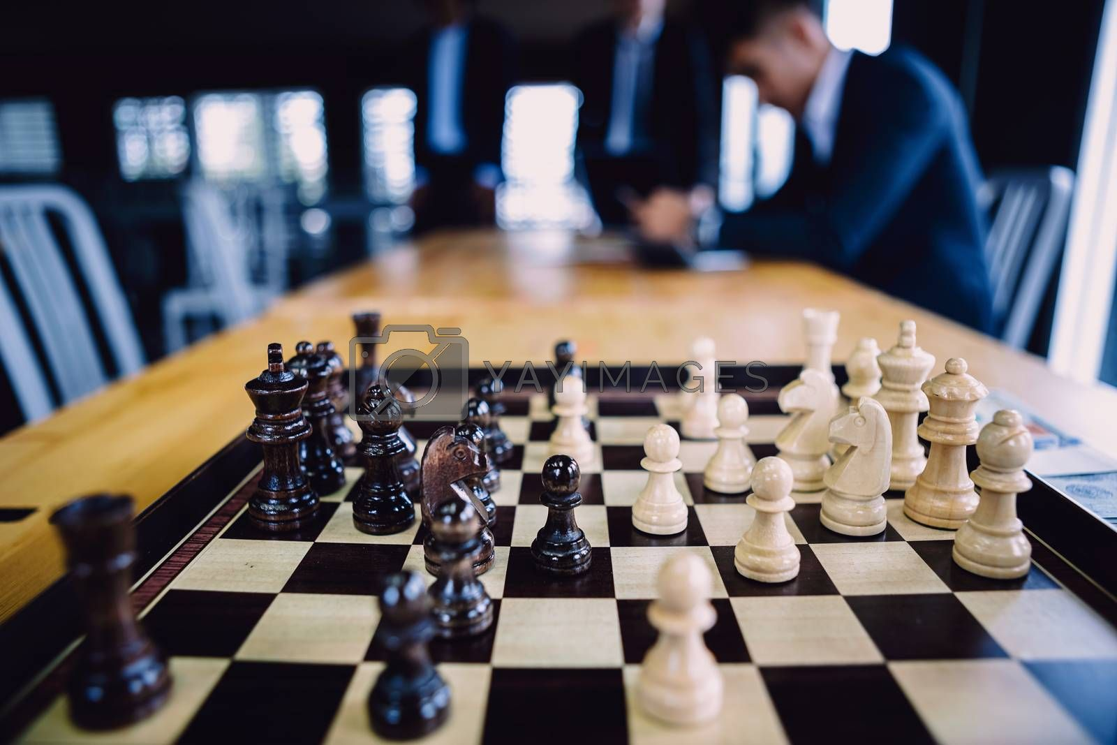 Chess financial business strategy. strategy ideas Planning and D by numberone9018