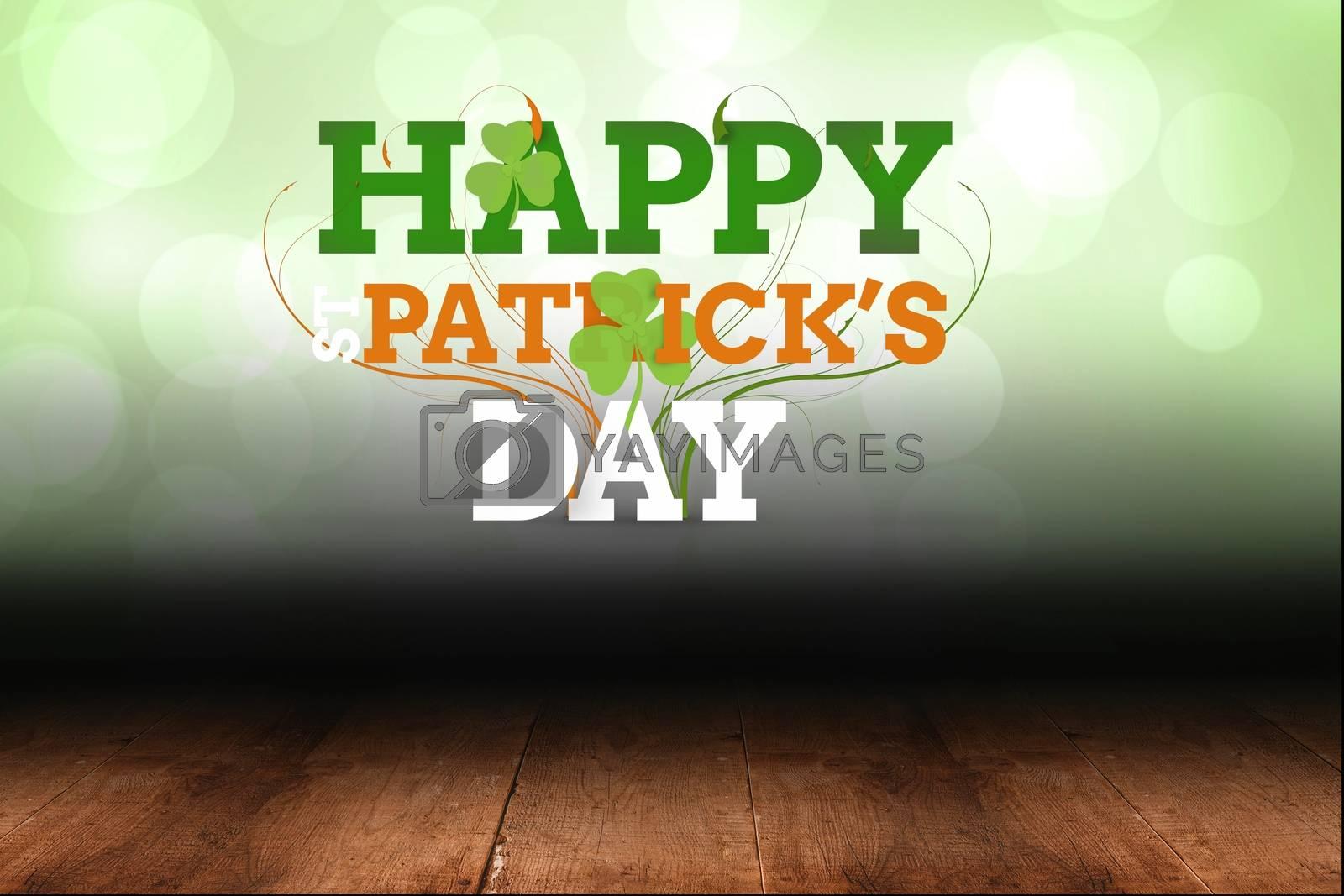 Text of happy st patricks day