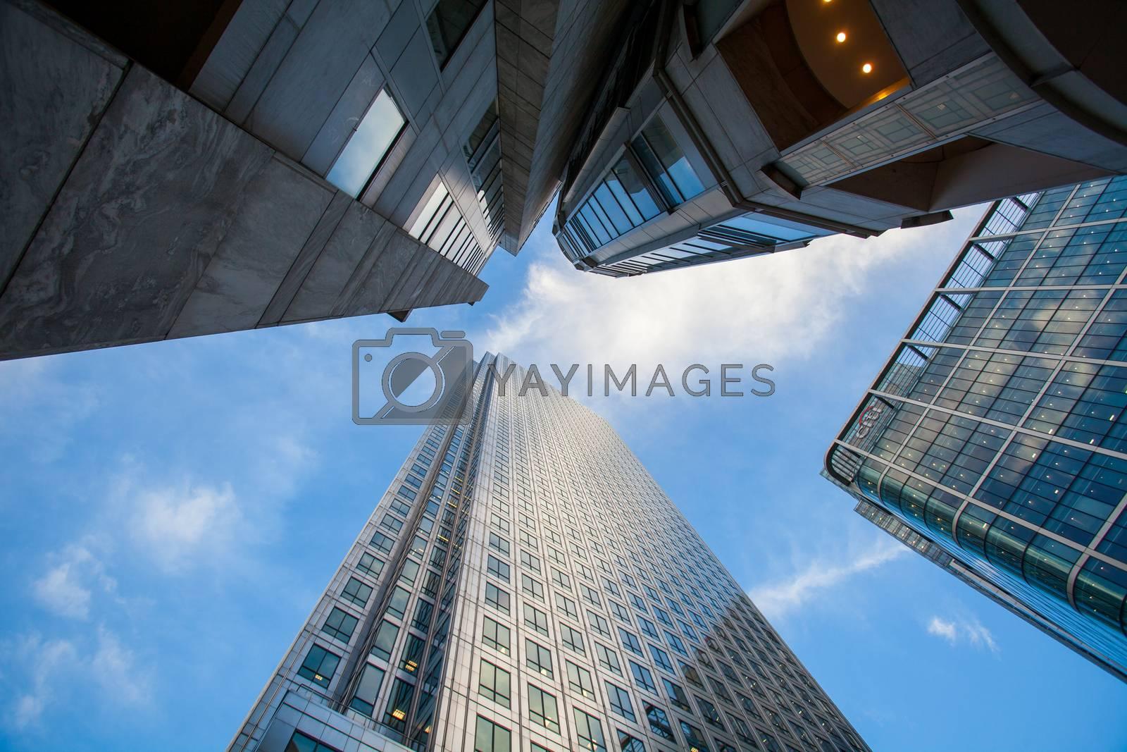 London office building cityscape  for business concept