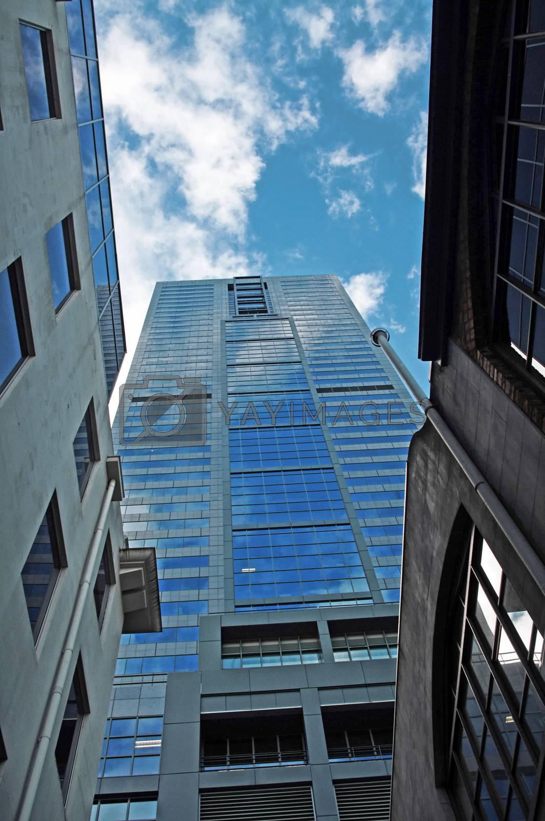 Hdr shot of skyscraper in Melbourne